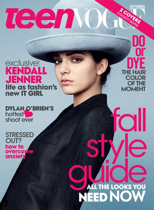 Kendall Jenner Covers The September Issue of Teen Vogue