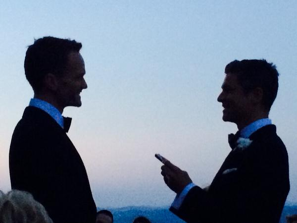 Neil Patrick Harris and David Burtka are Officially Married