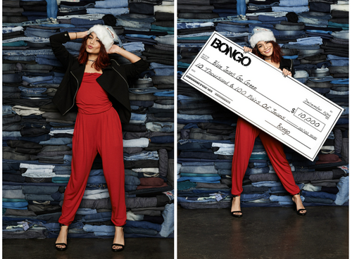 Bongo and Vanessa Hudgens Kick-Off the Holidays by Recycling Denim for Charity 2