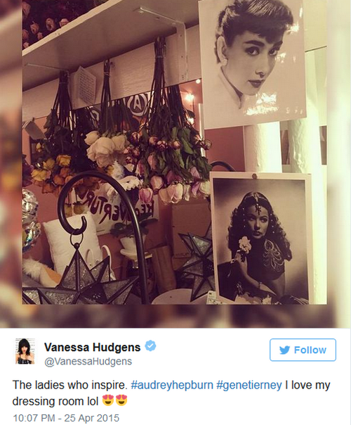 Vanessa Hudgens Shares Her Style and Inspiration