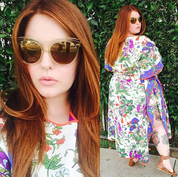 Tess Holliday: Plus-Sized Model's Positive Message for Body Image #effyourbeautystandards