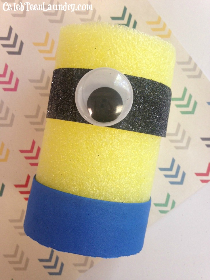 Minion pool noodle summer fun and crafts for all ages for Fun crafts for all ages