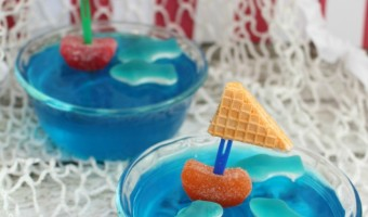 Shark Week Treats: Nautical-Themed Jello Cups