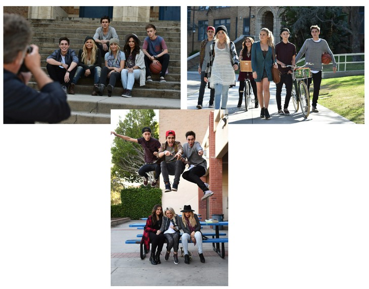 Noah Cyrus, Stella Hudgens, Alli Simpson Mudd Fall 2015 Campaign