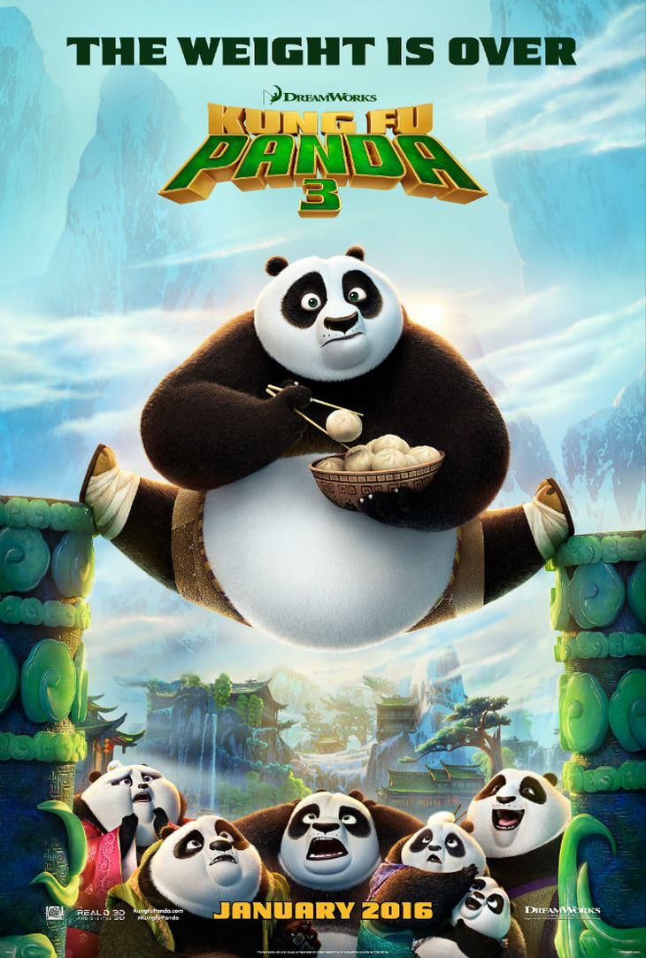First Official Poster for Kung Fu Panda 3 - SEE IT HERE