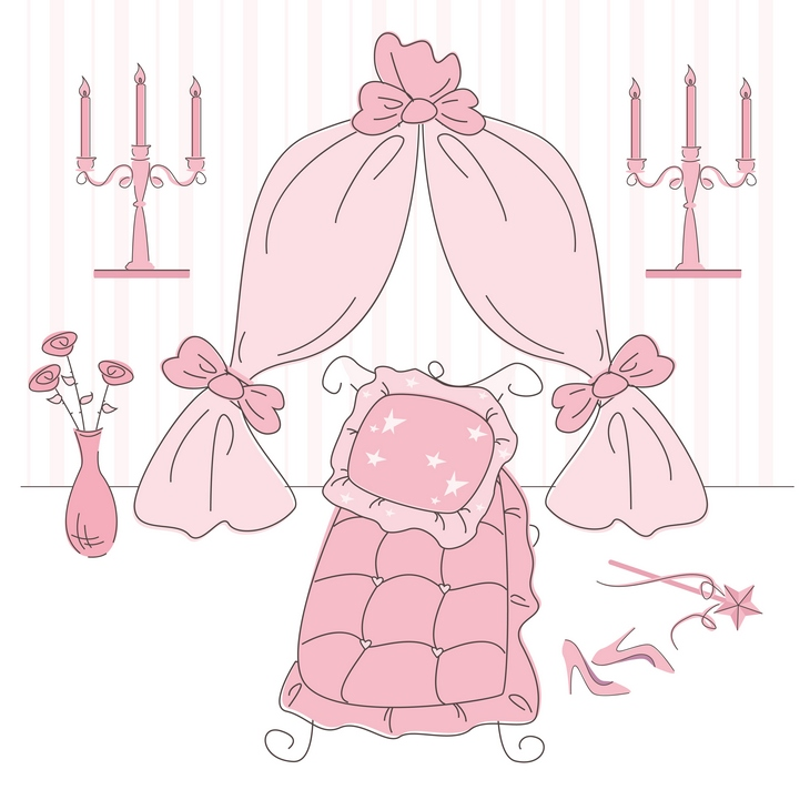 How to Create a Princess Themed Bedroom
