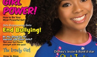 "BYOU Magazine's ""Girl Power"" Issue Featuring Skai Jackson"