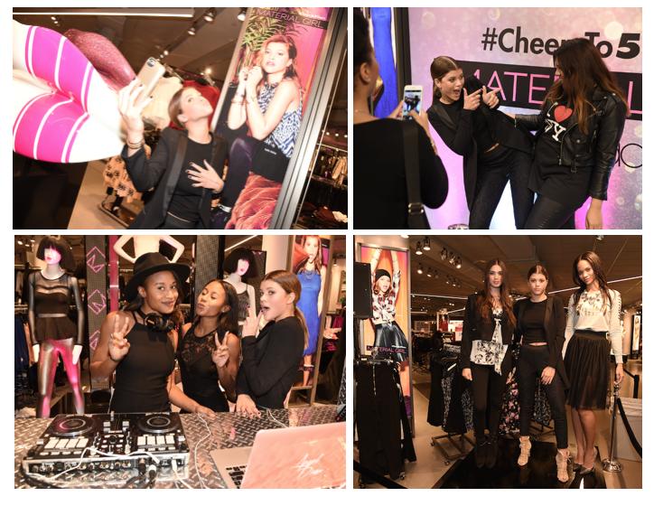 Sofia Richie Celebrates Madonna's Material Girl Brand's 5th Birthday at Macy's