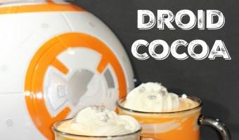 Star Wars BB-8 White Chocolate Hot Cocoa