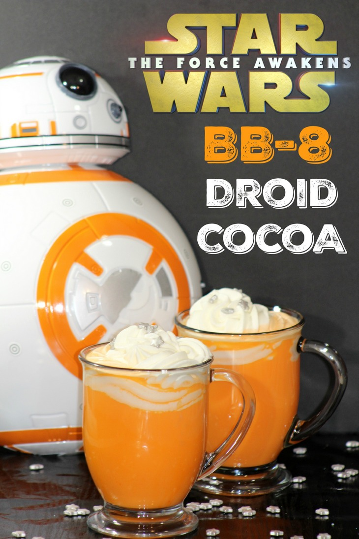 STAR WARS BB-8 DROID COCOA 1