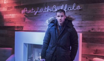 Nick Jonas, Mia Moretti, and Tyler Posey Sundance Buffalo David Bitton Party