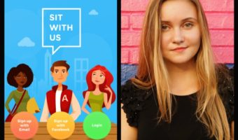 """Teen Creates Anti-Bullying App """"Sit With Us"""" To Help students Survive The High-School Cafeteria"""