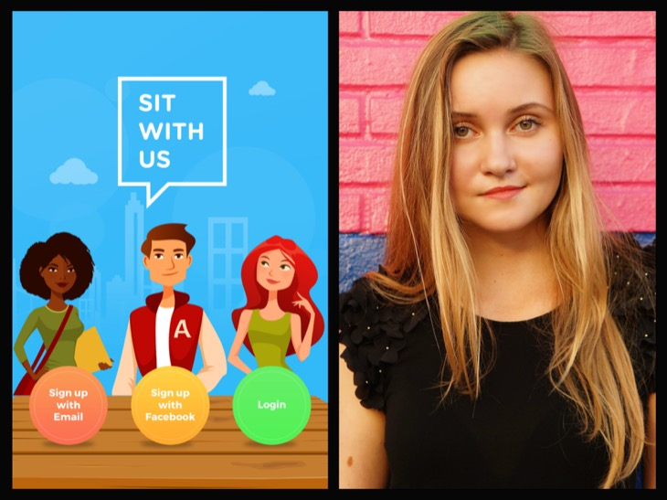 "Teen Creates Anti-Bullying App ""Sit With Us"" To Help students Survive The High-School Cafeteria"