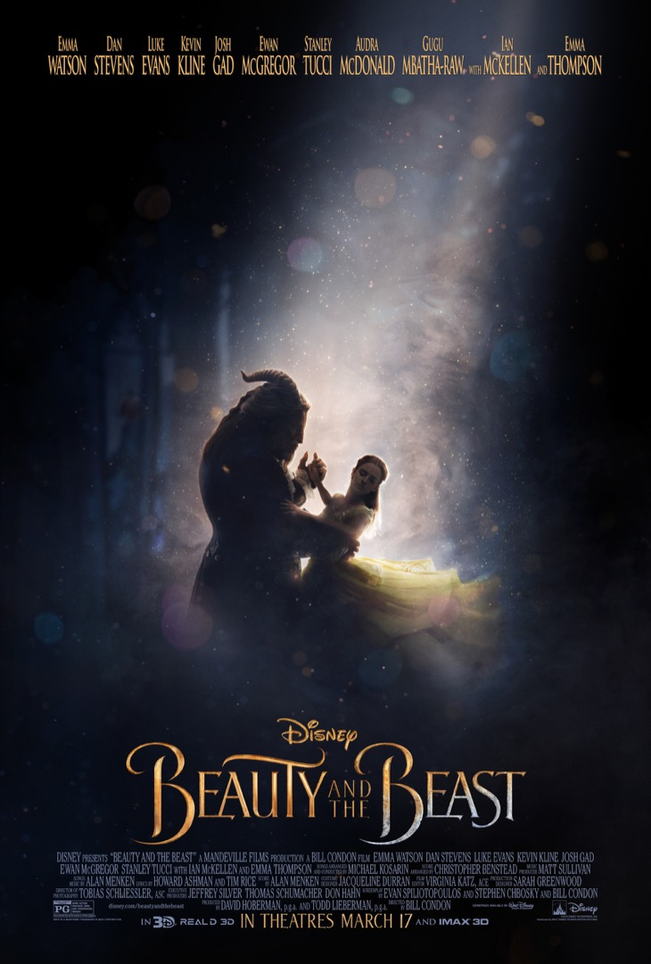 Disney Releases New Beauty and The Beast Poster - See It Here
