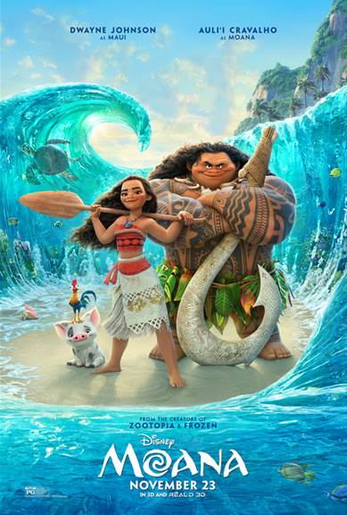 Disney's MOANA - A New Clip & Featurette Released - See It HERE!