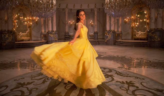 Emma Watson As Belle In Beauty And The Beast Remake (Pics & Video)