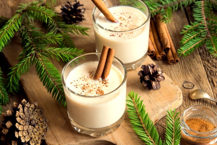 December is National Eggnog Month