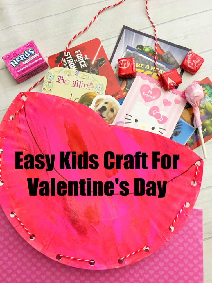 Easy Valentines Day Card Holder Craft For Kids  Our Teen Trends