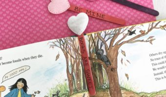 DIY: Make These Cute Valentine's Day Bookmarks With Your Children