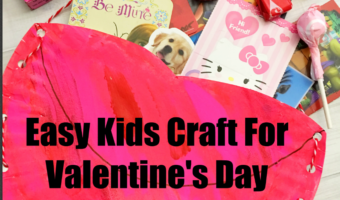 Easy Valentine's Day Card Holder Craft For Kids