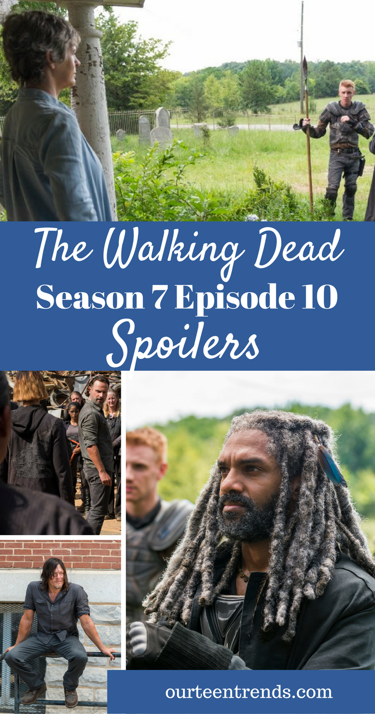 The Walking Dead Season 7 Episode 10 Spoilers: Mystery Woman Bargains With Rick – Daryl Prepares - Survivors Prepare To Regain Control