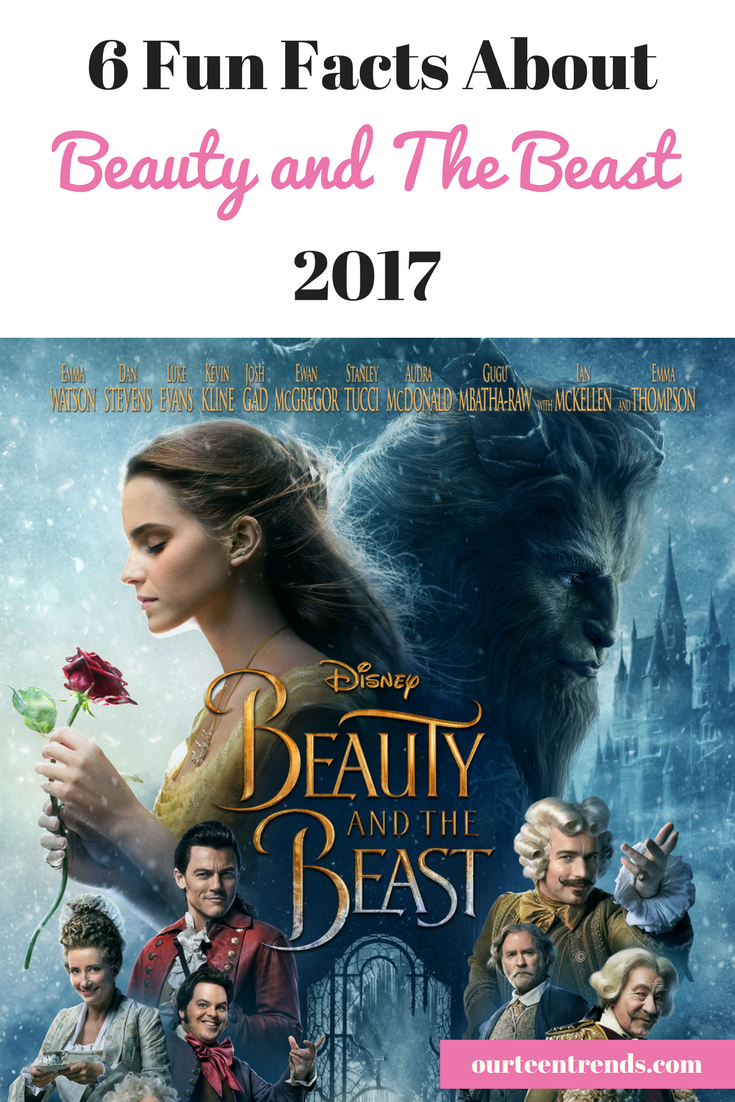 6 Fun Facts about Beauty and the Beast 2017