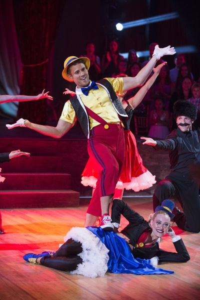 Fans React To Nick Viall's Pinocchio Portrayal On Dancing With The Stars
